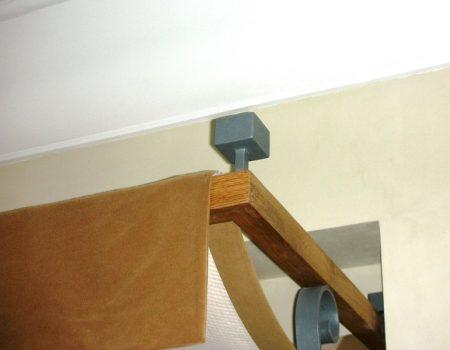 Elementos decoración dosel hotel